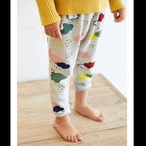 Zara || Baby Cloud Print Trouser Leggings